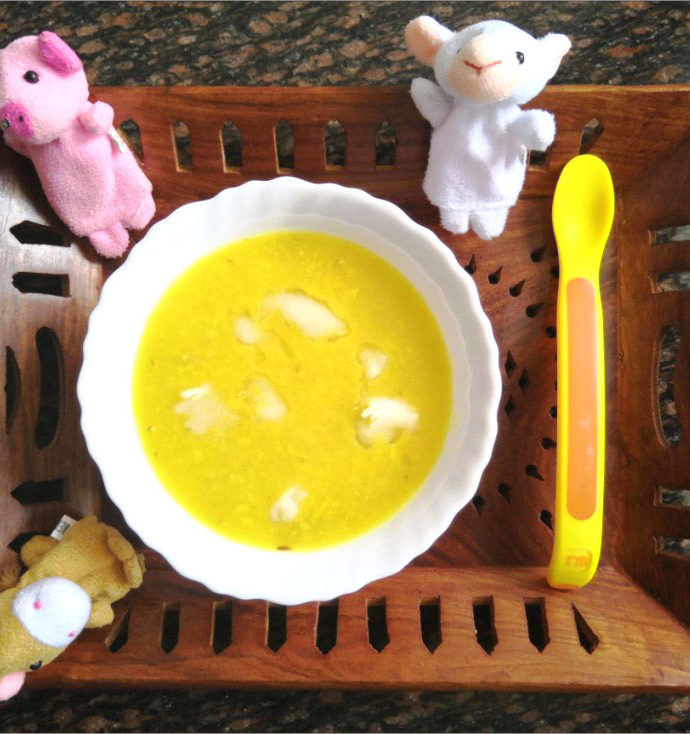Homemade Dal Recipe for Babies