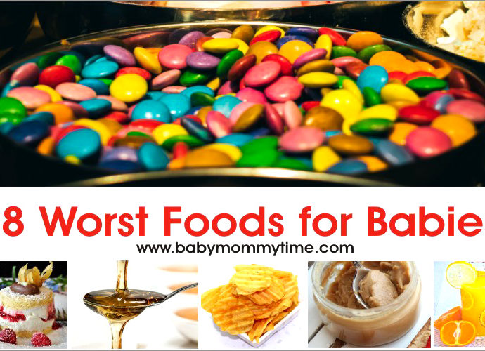 8 Worst Foods for Babies in First Year