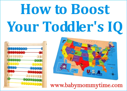 How to Boost Your Toddler's IQ