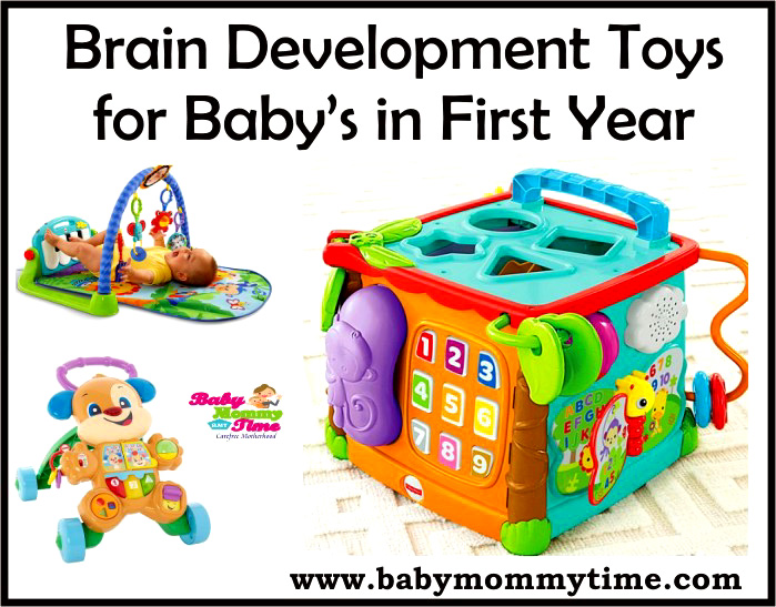 10 Brain Development Toys for Baby's in First Year