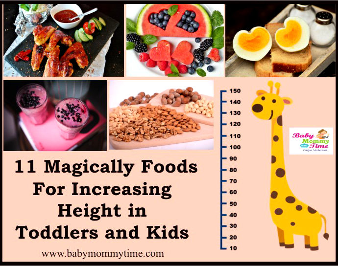 11 Magic Foods for Increasing Height in Toddlers and Kids