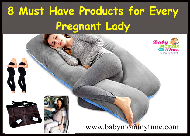 8 Must Have Products for Every Pregnant Lady