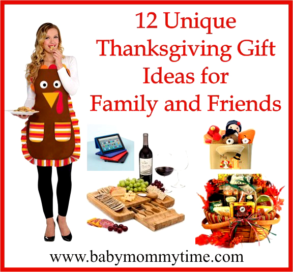 12 Unique Thanksgiving Gifts Ideas for Family and Friends