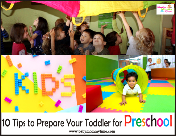 10 Tips to Prepare Your Toddler for Preschool