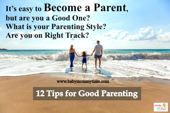 12 Tips for Good Parenting