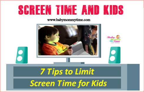 Screen Time and Kids: 7 Tips to Limit Screen Time for Kids
