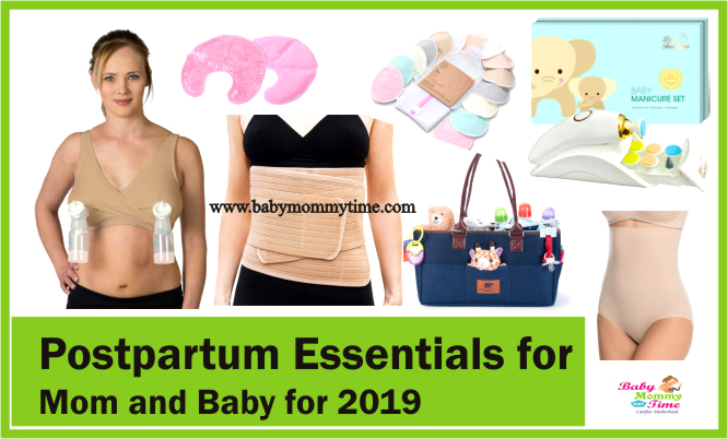 Postpartum Essentials for Mom and Baby for 2019