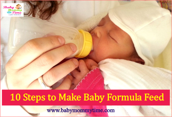 10 Steps to Make Baby Formula Feed